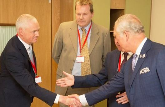 Prince of Wales visiting Our Lady's Hospice Harold's Cross