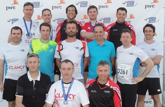 Staff Relay Series in the Phoenix Park